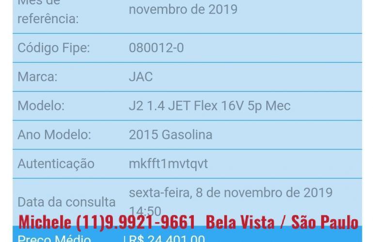 JAC J2 1.4 16V VVT JetFlex - Foto #5
