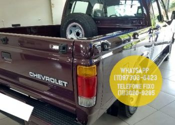 Chevrolet D20 Pick Up Custom Luxe 4.0 (Cab Dupla) - Foto #6