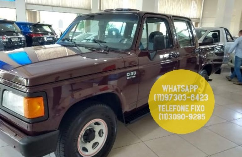 Chevrolet D20 Pick Up Custom Luxe 4.0 (Cab Dupla) - Foto #8