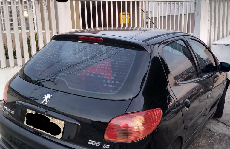 Peugeot 206 Hatch. Sensation 1.4 8V (flex) - Foto #5
