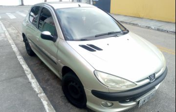 Peugeot 206 Hatch. Feline 1.4 8V (flex)