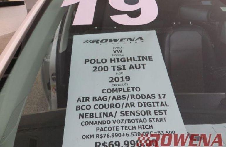 Volkswagen polo Highline 200 1.0 TSI  Automática - Foto #9