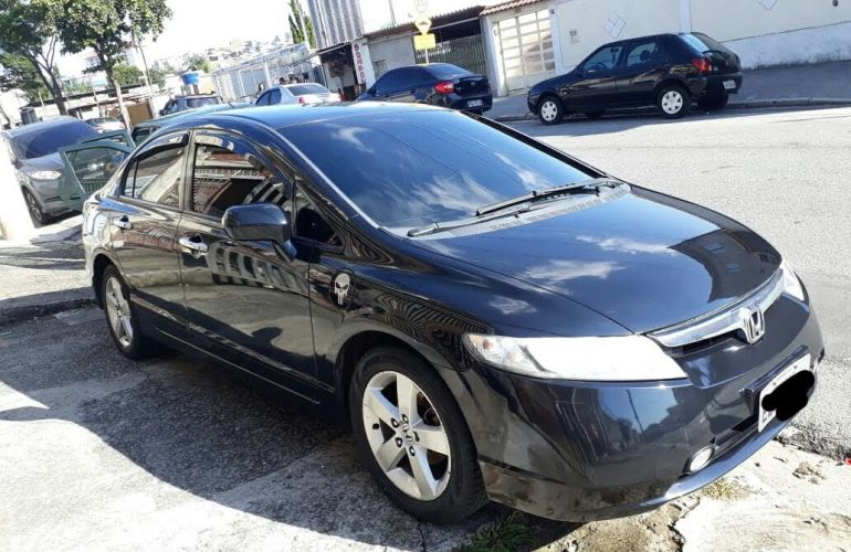 Honda New Civic LXS 1.8 16V (Aut) (Flex) - Foto #3