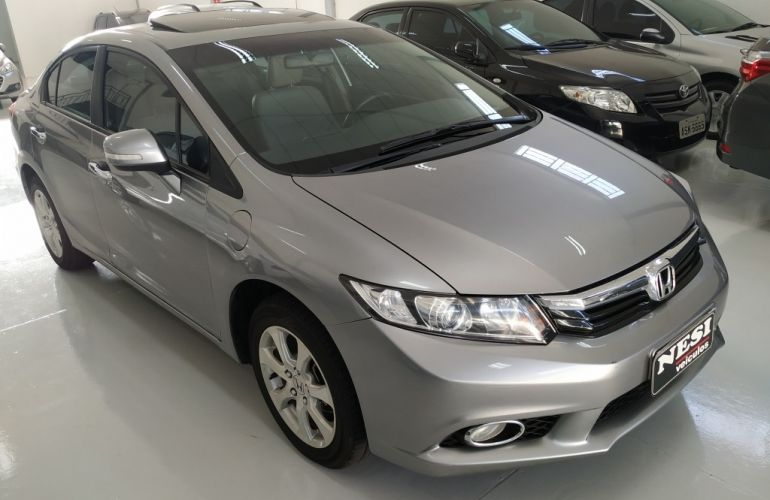 Honda New Civic EXS 1.8 16V (Aut) (Flex) - Foto #2
