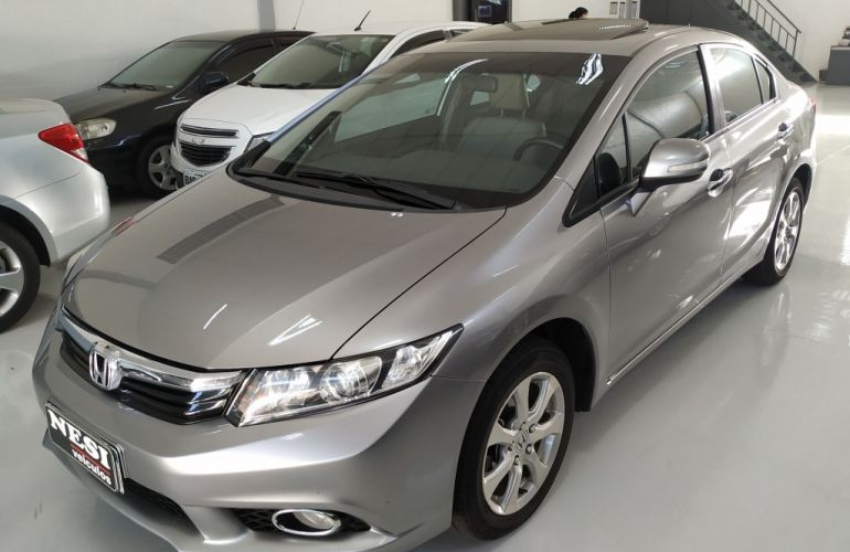 Honda New Civic EXS 1.8 16V (Aut) (Flex) - Foto #3