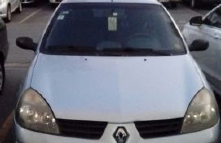 Renault Clio Hatch. Authentique 1.0 16V (flex) - Foto #1
