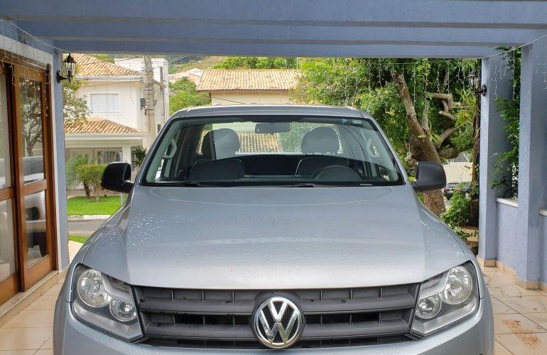 Volkswagen Amarok 2.0 S 4x4 TDi (Cab Dupla) - Foto #4