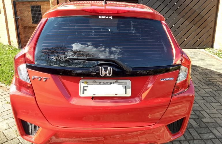 Honda Fit 1.5 16v EXL CVT (Flex) - Foto #8