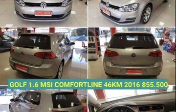 Volkswagen Golf Comfortline Tiptronic 1.6 MSI (Flex)