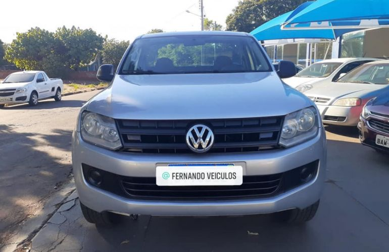 Volkswagen Amarok 2.0 S 4x4 TDi (Cab Simples) - Foto #1