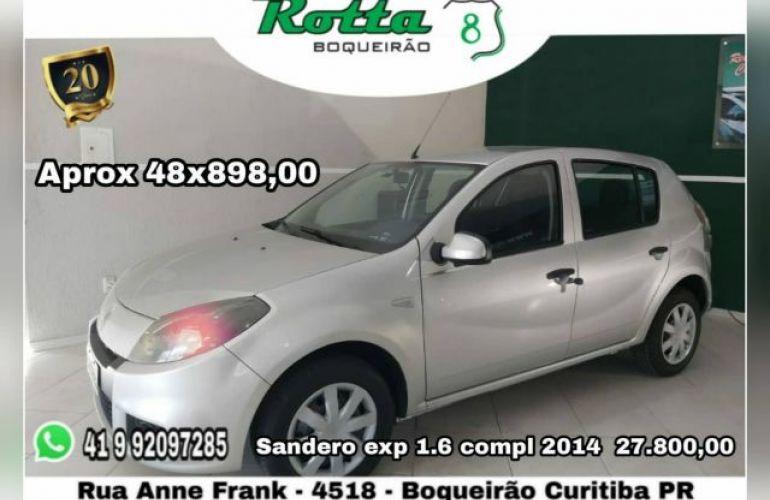 Renault Sandero Expression 1.6 8V Hi-Flex - Foto #1