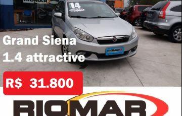 Fiat Grand Siena 1.4 MPi Attractive 8v - Foto #1