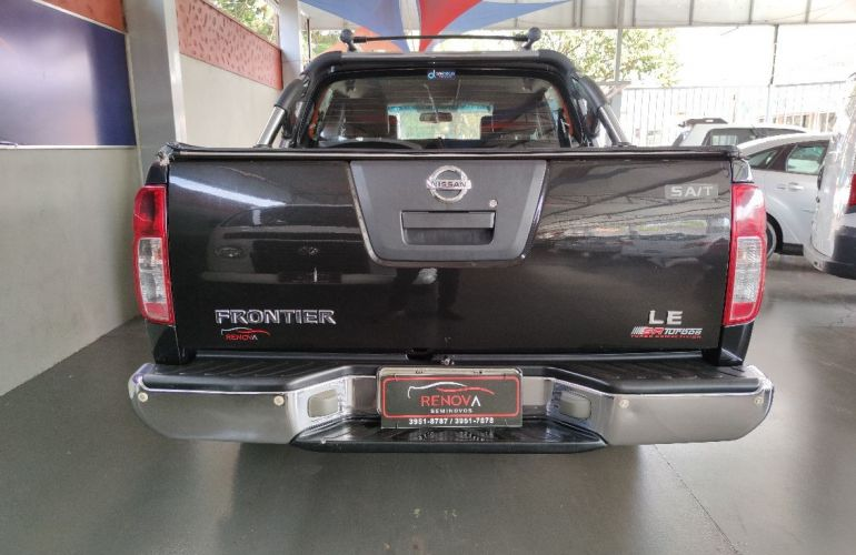 Nissan Frontier 2.5 Le Attack 4x4 CD Turbo Eletronic - Foto #4