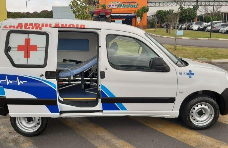 Peugeot Partner 1.6 Furgão 800kg 16v - Foto #10