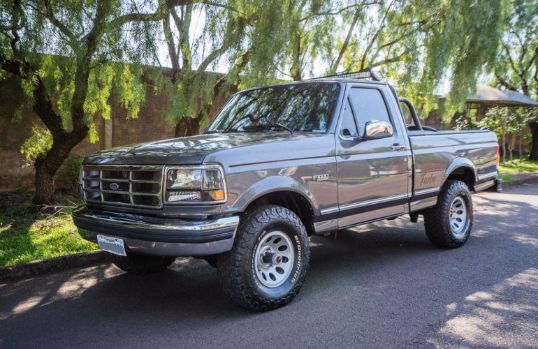 Ford F1000 XL Turbo 4x4 4.3 (Cab Simples) - Foto #3