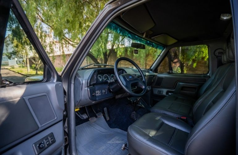 Ford F1000 XL Turbo 4x4 4.3 (Cab Simples) - Foto #8