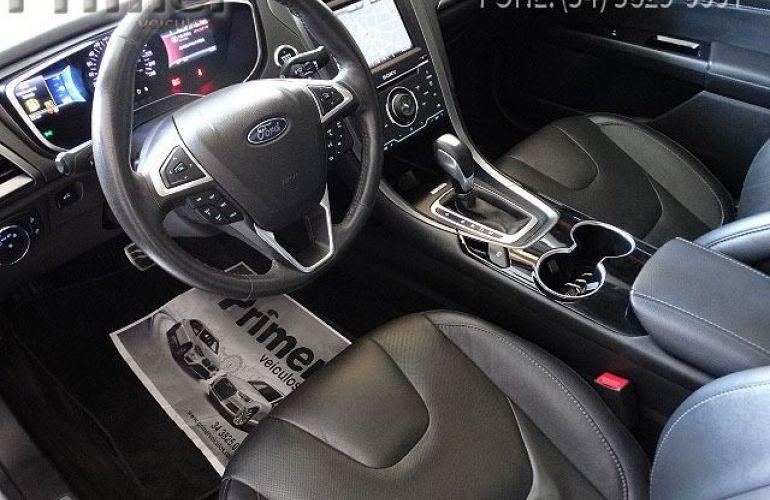 Ford Fusion Titanium EcoBoost FWD 2.0 GTDI - Foto #5