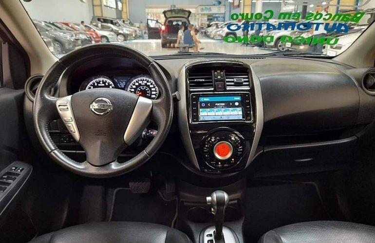Nissan Versa 1.6 16V Flexstart Unique - Foto #4