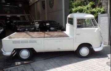 Volkswagen Kombi Pick-up 1.6 8V - Foto #5