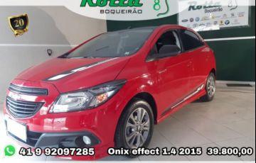 Chevrolet Onix EFFECT 1.4 MPFI 8V