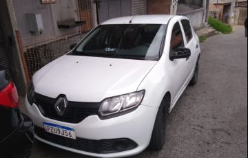 Renault Sandero Authentique 1.0 12V SCe (Flex) - Foto #10