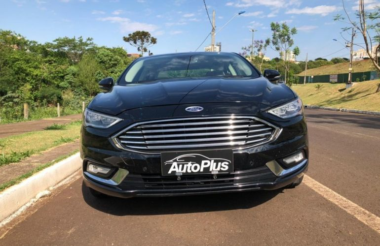 Ford Fusion 2.0 EcoBoost Titanium AWD (Aut) - Foto #4