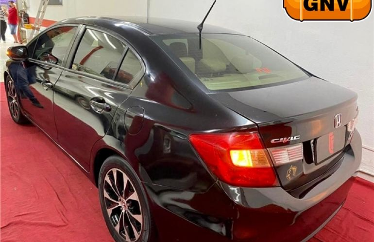 Honda Civic 2.0 LXR 16V Flex 4p Automático - Foto #3