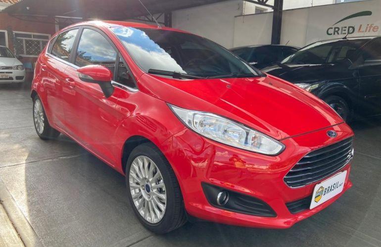 Ford New Fiesta Titanium Plus 1.6 16V PowerShift - Foto #3