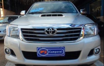 Toyota Hilux SRV 4X4 Cabine Dupla 3.0 Turbo Intercooler 16V - Foto #1