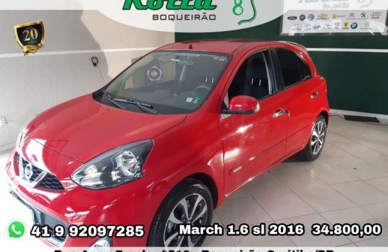 Nissan March SL 1.6 16V Flex - Foto #1