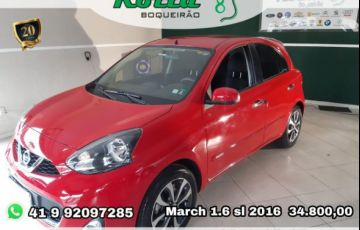 Nissan March SL 1.6 16V Flex