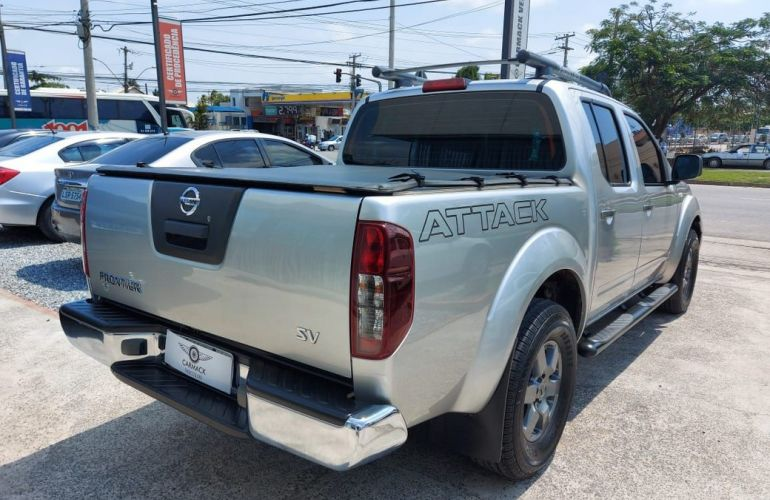 Nissan Frontier 2.5 SV Attack 4x4 CD Turbo Eletronic - Foto #6