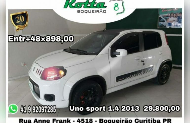 Fiat Uno Sporting 1.4 8V Flex - Foto #1