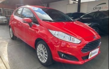 Ford New Fiesta Titanium Plus 1.6 16V PowerShift - Foto #3
