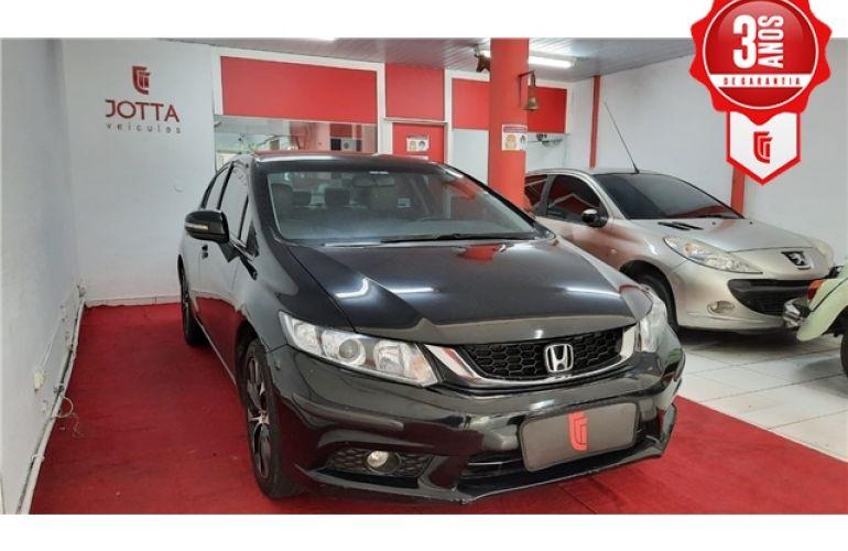 Honda Civic 2.0 LXR 16V Flex 4p Automático - Foto #4