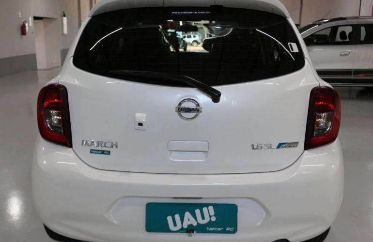 Nissan March SL CVT 1.6 16V Flex - Foto #7