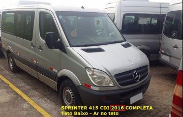 Mercedes-Benz Sprinter 2.1 CDI 415 Van 15+1 Luxo - Foto #3