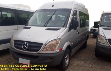 Mercedes-Benz Sprinter 2.1 CDI 415 Van 15+1 Luxo - Foto #5