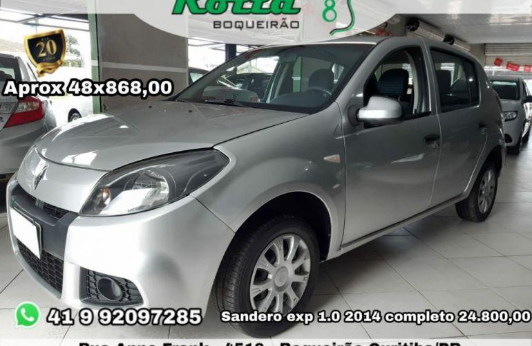 Renault Sandero Expression 1.0 16V Hi-Flex - Foto #1