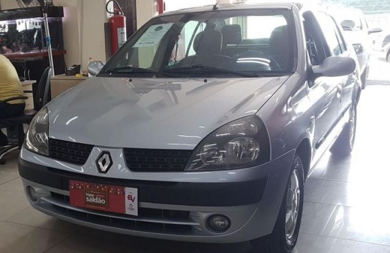 Renault Clio Sedan Privilége 1.6 16V Hi-Flex - Foto #3