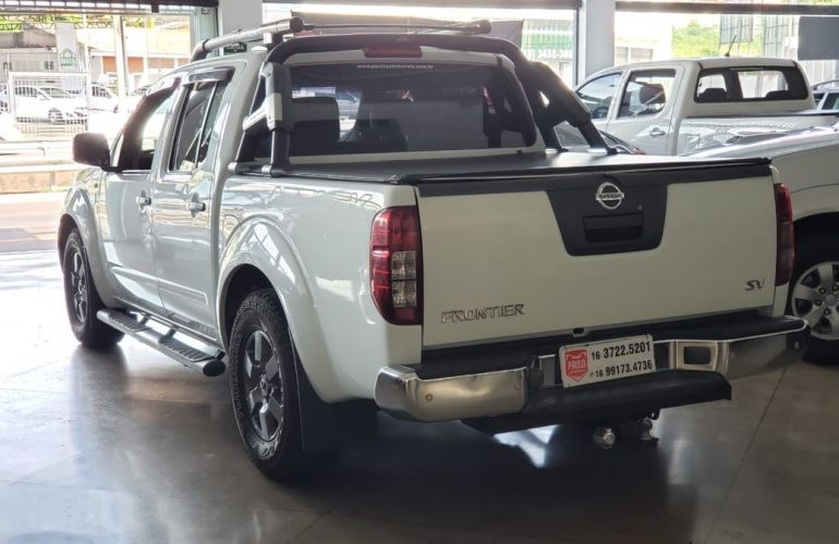 Nissan Frontier 2.5 SV Attack 10 Anos 4x2 CD Turbo Eletronic - Foto #4
