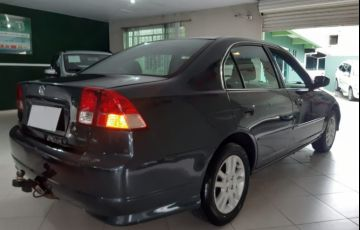 Honda Civic LX 1.7 16V - Foto #4