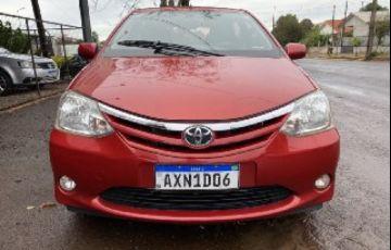 Toyota Etios XLS platinum 1.5 (Flex)