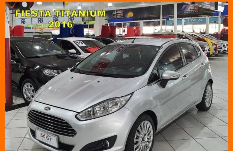 Ford Fiesta 1.6 Titanium Hatch 16v - Foto #1