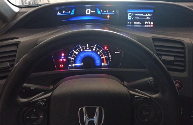 Honda New Civic LXS 1.8 16V i-VTEC (Aut) (Flex) - Foto #5