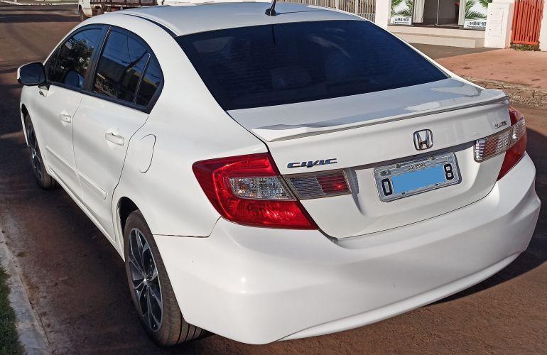 Honda New Civic LXS 1.8 16V i-VTEC (Aut) (Flex) - Foto #8
