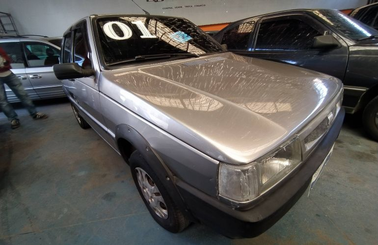 Fiat Uno Mille Smart 1.0 IE 4p - Foto #3