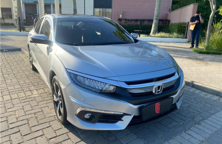 Honda Civic 1.5 16V Turbo Gasolina Touring 4p Cvt - Foto #5