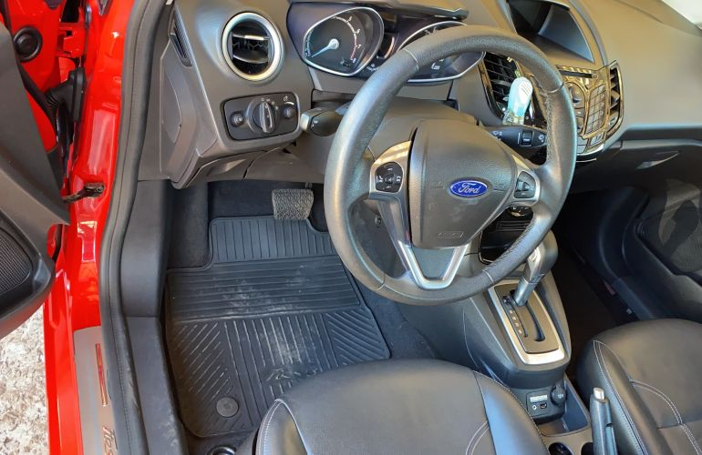 Ford New Fiesta Titanium 1.6 16V PowerShift - Foto #8