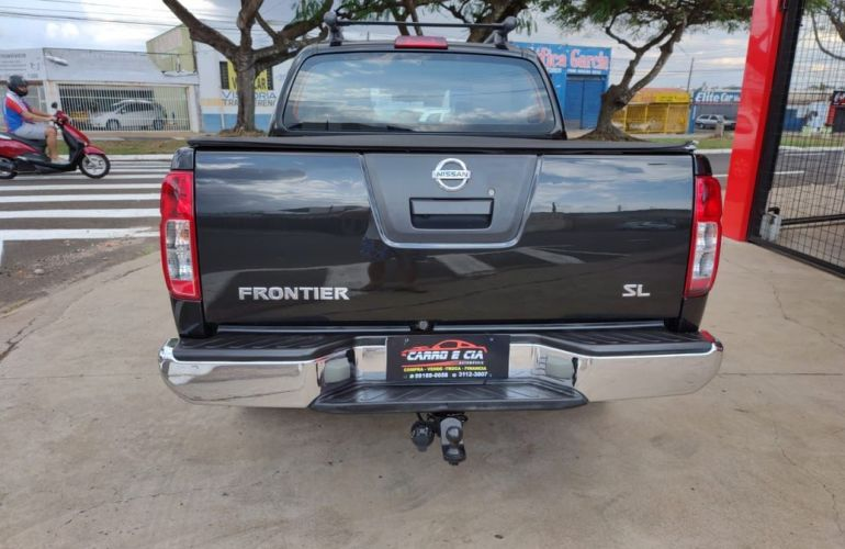 Nissan Frontier 2.5 SL 10 Anos 4x4 CD Turbo Eletronic - Foto #8